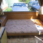 17ft towing double bed