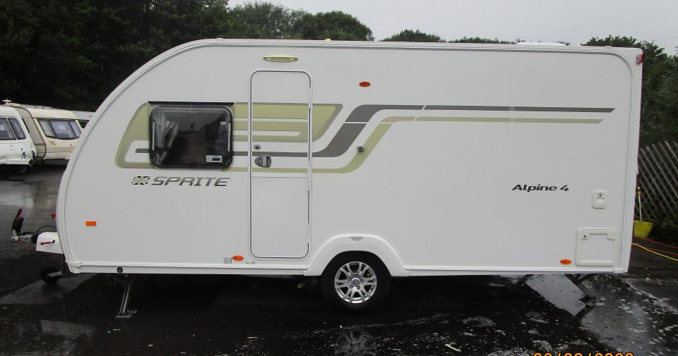 SWIFT SPRITE ALPINE 4 2014 Arriving December