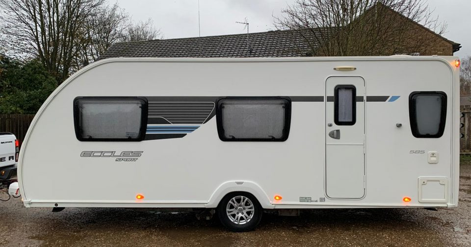 STERLING ECCLES SPORT 585 2013 6 BERTH Arriving January/February