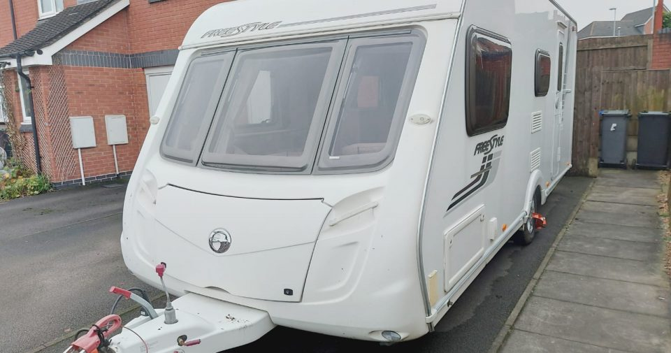 SWIFT FREESTYLE 2011 4 BERTH ARRIVING MARCH/APRIL